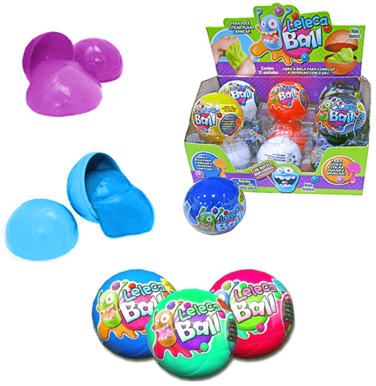 GELEINHA SLIME / LELECA BALL COLORS 125G