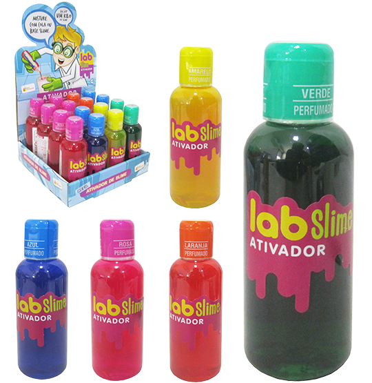 REFIL ATIVADOR PERFUMADO LAB SLIME COLORS 120ML